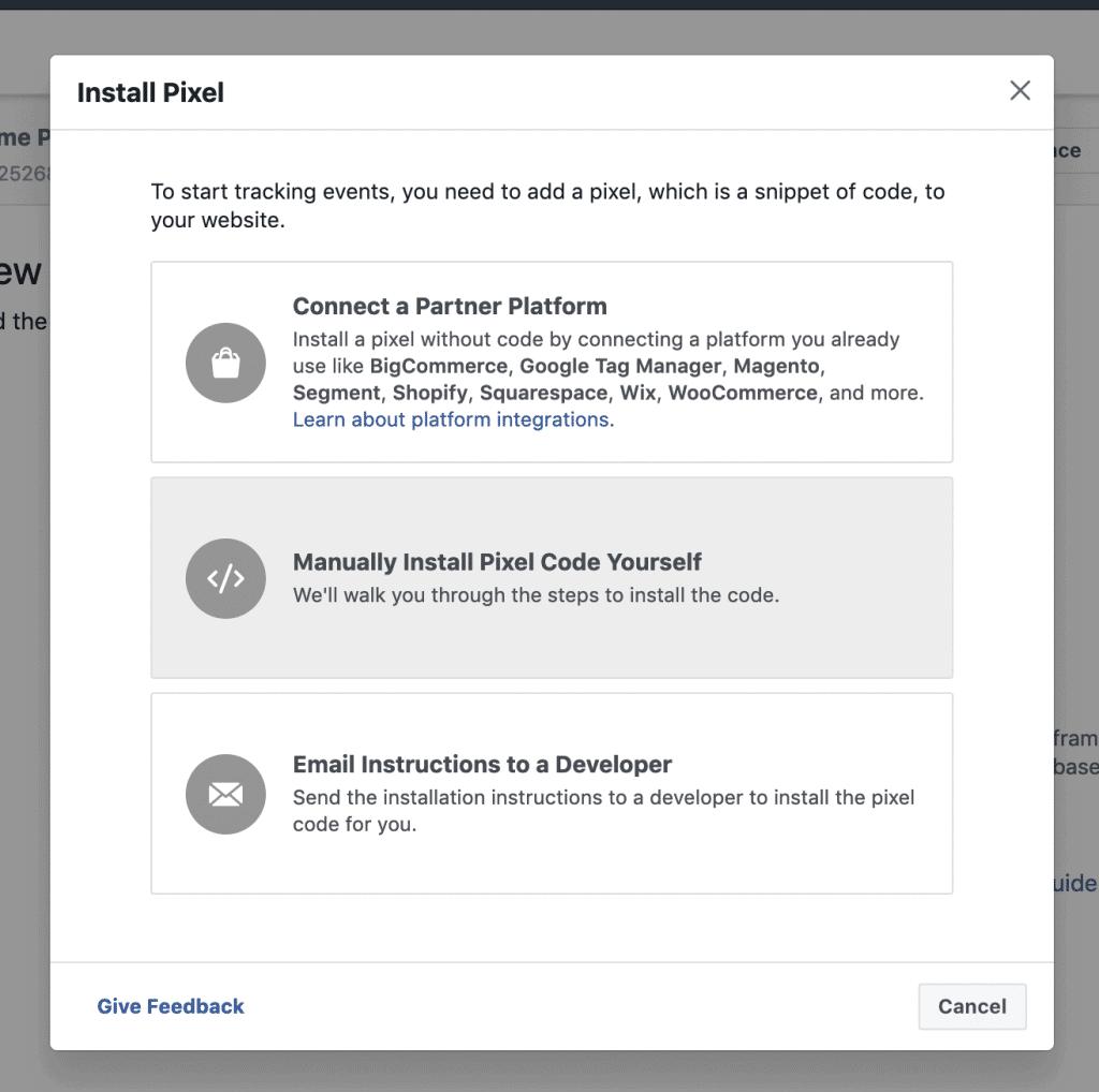 Facebook Pixel ID