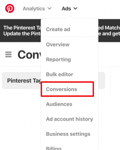 Pinterest Pixel ID